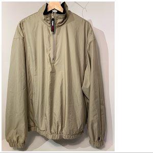 Vintage 90s Tommy Hilfiger Pullover Golf Jacket XL